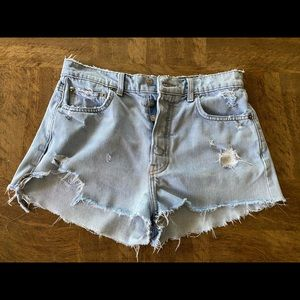 Reformation shorts size 28